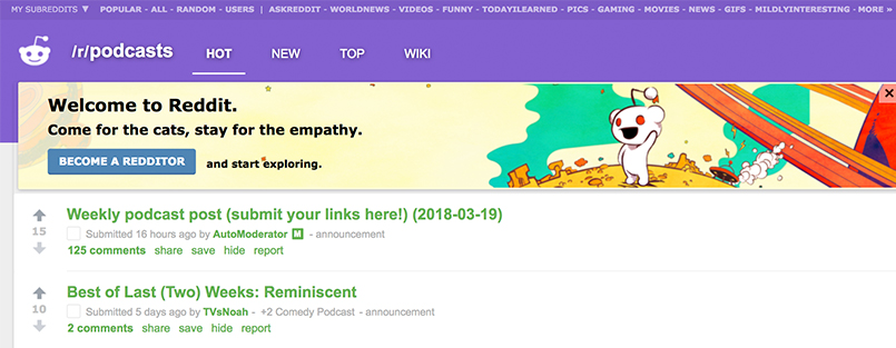 16 Active Podcasting Communities To Join   We Edit Podcasts