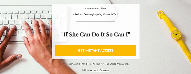 cb321136986 The Women in Tech Podcast is hosted by WeAreLATech s Espree Devora and  features inspiring Women in Tech from Engineers